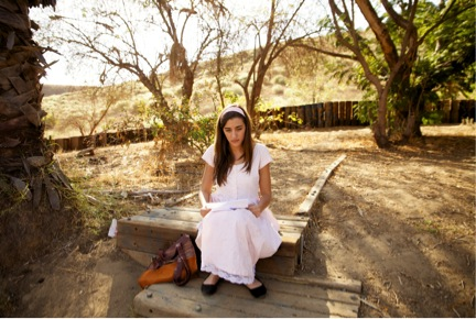 "Actress Daniela Mandoki in the film ""Obediencia Perfecta"""
