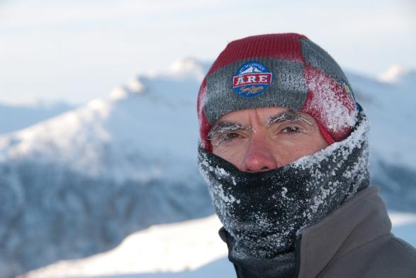 Nicola De Stefani in Brooks Range Alaska