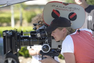 Cinematographer Kristin Fieldhouse