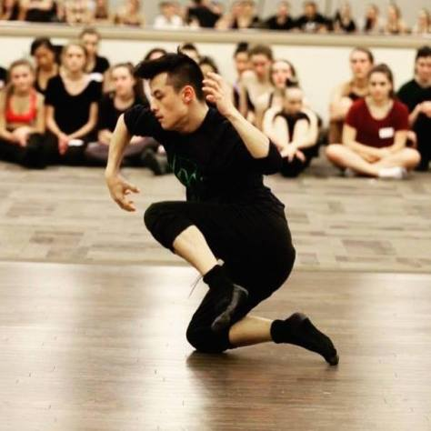 Canadian dancer Keanu Uchida
