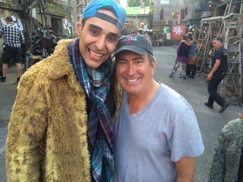 Navid Charkhi and Kenny Ortega