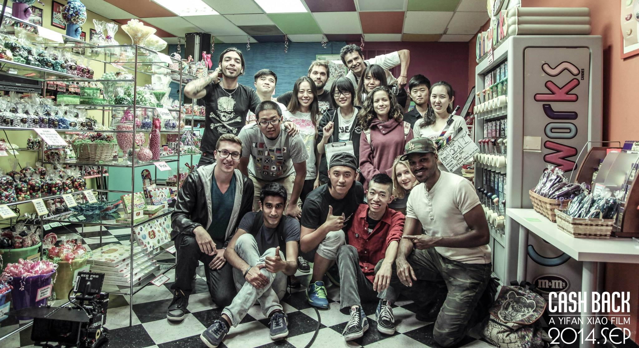 Cash Back cast & crew