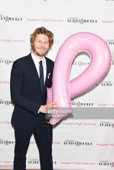 Alastair Osment attends Hollywood Unites to Fight Breast Cancer at a Cause for Entertainment on October 15, 2017 in Los Angeles, California 2 - Photo by Michael Bezjian Getty Images for