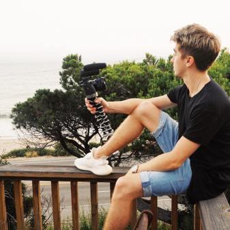 photo of vlogging