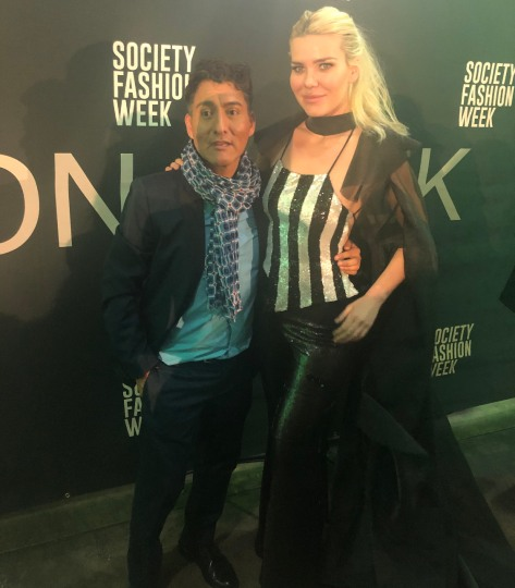 at the event with Will Franco